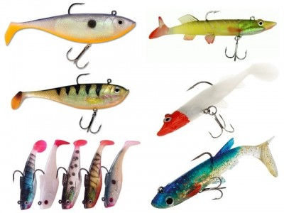 Рыбка силикон 1шт 50
